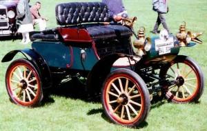 Ford Model A avec peinture verte
